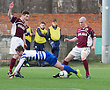 Penalty controversy number 4 : Morton's Lee Kilday goes down in the box but Referee Alan Muir books him for diving.