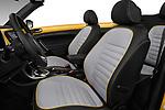 Front seat view of 2017 Volkswagen Beetle Dune 3 Door Hatchback Front Seat  car photos