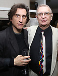 Hershey Felder and Harry Haun attend the Opening Night of 'Hershey Felder As Irving Berlin' on September 5, 2018 at the 59E59 Theatre in New York City.