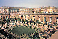 Gardens of Versailles designed by Le Notre.