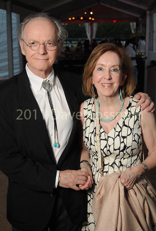 Ursula and Saul Balagura at the Nature Conservancy's Nature Rocks  Gala at the Houston Polo Club Thursday Oct. 22,2015.(Dave Rossman photo)