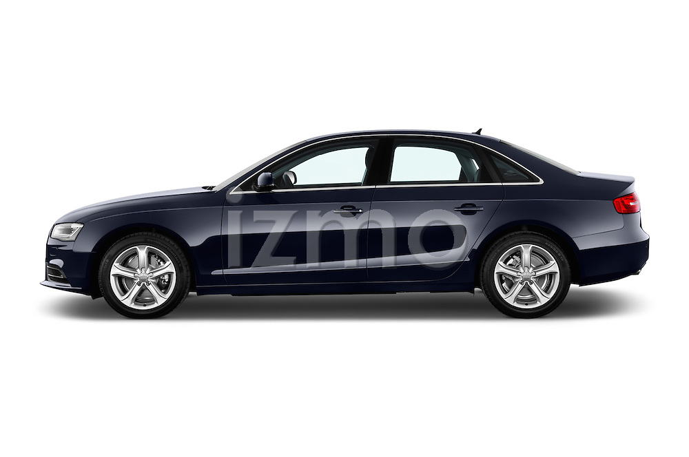Driver side profile view of a 2014 Audi A4 AMBITION LUXE 4 Door Sedan 2WD