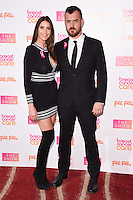 Lisa Snowdon and boyfriend, George Smart<br /> at the Breast Cancer Care fashion Show 2016, London.<br /> <br /> <br /> ©Ash Knotek  D3193  02/11/2016