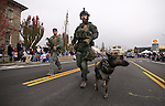 The Carson City Sheriff's SWAT members participate in  the annual Nevada Day parade in Carson City, Nev. on Saturday, Oct. 29, 2016. <br />Photo by Cathleen Allison