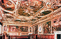 Venice:  Palazzo Ducale--The Senate Chamber.  Reference only.