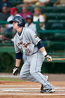 Patrick McKenna of the Lakeland Flying Tigers during the game at Jackie Robinson Ballpark in Daytona Beach, Florida on August 29, 2010. Photo By Scott Jontes/Four Seam Images