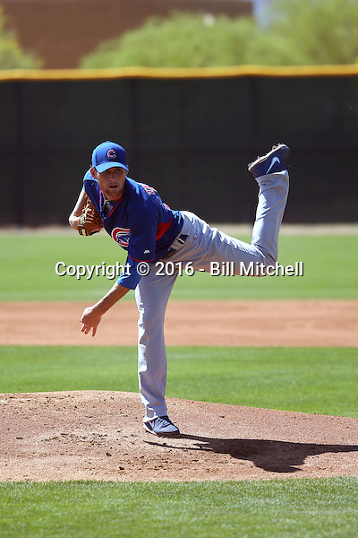 Kyle Twomey - Chicago Cubs 2016 spring training (Bill Mitchell)