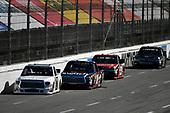 NASCAR Camping World Truck Series<br /> Alpha Energy Solutions 250<br /> Martinsville Speedway, Martinsville, VA USA<br /> Saturday 1 April 2017<br /> Brett Moffitt, Noah Gragson, Ty Dillon<br /> World Copyright: Scott R LePage/LAT Images<br /> ref: Digital Image lepage-170401-mv-2734