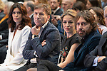 Antonio de la Torre, Angie Cepeda, Silvia Abascal and Daniel Sanchez Arevalo attend public reading finalists of the 25 Jose Forque Film Awards<br /> Madrid, Spain. <br /> November 21, 2019. <br /> (ALTERPHOTOS/David Jar)