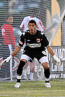 Miguel Gallardo...AC St Louis were defeated 1-2 by Austin Aztek in their inaugural home game in front of 5,695 fans at Anheuser-Busch Soccer Park, Fenton, Missouri.