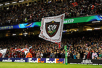 during the Heineken Cup Final match between RC Toulon and Saracens at the Millennium Stadium on Saturday 24th May 2014 (Photo by Rob Munro)