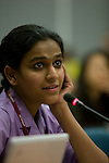 Indian Youth Delegate. UNFCCC COP 14 (©Robert vanWaarden ALL RIGHTS RESERVED)