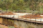 Landfill, Kampala, Uganda..Water treatment facilities adjacent to the municipal dump in Kampala, Uganda.