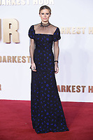 "Laura Bailey<br /> arriving for the ""Darkest Hour"" premiere at the Odeon Leicester Square, London<br /> <br /> <br /> ©Ash Knotek  D3361  11/12/2017"