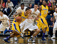 David Kravish of California in action during the game against CSUB at Haas Pavilion in Berkeley, California on November 11th, 2012.  California defeated CSUB, 78-65.