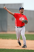 January 16, 2010:  Julian Cortez (Greenfield, CA) of the Baseball Factory Pacific Team during the 2010 Under Armour Pre-Season All-America Tournament at Kino Sports Complex in Tucson, AZ.  Photo By Mike Janes/Four Seam Images