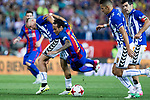 Neymar Santos Jr of FC Barcelona during the match of  Copa del Rey (King's Cup) Final between Deportivo Alaves and FC Barcelona at Vicente Calderon Stadium in Madrid, May 27, 2017. Spain.. (ALTERPHOTOS/Rodrigo Jimenez)