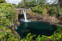 Rainbow Falls, Wailuku River, Hilo, Big Island of Hawai'i.