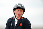 October 17, 2021: Oliver Townend (GBR), aboard Cooley Master Class, reacts after competing during the Stadium Jumping Final at the 5* level during the Maryland Five-Star at the Fair Hill Special Event Zone in Fair Hill, Maryland on October 17, 2021. Jon Durr/Eclipse Sportswire/CSM