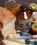 Great Britain, England, Ploughman's Lunch | Grossbritannien, England, Ploughman's Lunch - Brotzeit