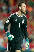 Spain's David De Gea during FIFA World Cup 2018 Qualifying Round match. September 2,2017.(ALTERPHOTOS/Acero)
