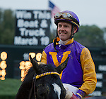 Jon Court rode Archarcharch (6) to victory in the 46th running of the Southwest Stakes at Oaklawn Park in Hot Springs, Arkansas.