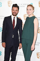 Dominic Cooper and Sophie Turner<br /> at the announcement of the nominations for the 2017 EE BAFTA Film Awards, BAFTA, London<br /> <br /> <br /> ©Ash Knotek  D3215  10/01/2017
