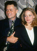 #JohnathanDemme #JodieFoster 1992<br /> Photo By Adam Scull/PHOTOlink.net