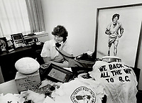 1980 FILE PHOTO - ARCHIVES -<br /> <br /> Fox; Terry - Marathon of Hope<br /> Bezant, Graham<br /> Picture, 1980<br /> <br /> 1980<br /> <br /> PHOTO : Graham Bezant - Toronto Star Archives - AQP