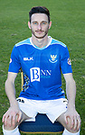 St Johnstone FC Photocall….2018/19 Season<br />Scott Tanser<br />Picture by Graeme Hart.<br />Copyright Perthshire Picture Agency<br />Tel: 01738 623350  Mobile: 07990 594431