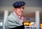 """Festival di Venezia 1999 _ Rodolfo Sonego, sceneggiatore<br /> fotografato nel Palazzo del Cinema in occasione della proiezione speciale del film ritrovato """"Totò e Carolina"""""""