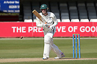 Dillon Pennington in batting action for Worcestershire during Essex CCC vs Worcestershire CCC, LV Insurance County Championship Group 1 Cricket at The Cloudfm County Ground on 11th April 2021