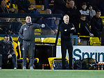 Livingston v St Johnstone…31.10.18…   Tony Macaroni Arena    SPFL<br />Livvy manager Gary Holt<br />Picture by Graeme Hart. <br />Copyright Perthshire Picture Agency<br />Tel: 01738 623350  Mobile: 07990 594431