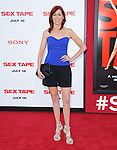Carrie Preston attends The L.A. Premiere of Sex Tape held at The Regency Village Theatre  in Westwood, California on July 10,2014                                                                               © 2014 Hollywood Press Agency
