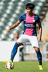 Chi Hau Tsang of Kitchee in action during the HKFA Premier League between South China Athletic Association vs Kitchee at the Hong Kong Stadium on 23 November 2014 in Hong Kong, China. Photo by Aitor Alcalde / Power Sport Images
