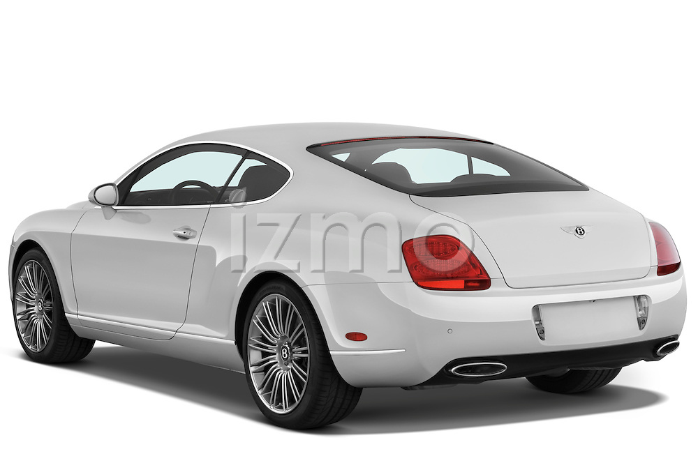 Rear three quarter view of a 2008 - 2012 Bentley Continental GT Speed Coupe.