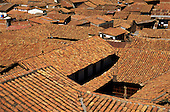 Cusco, Peru. Rooftops of the town.