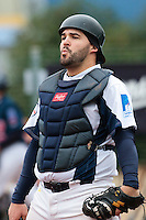 17 October 2010: Vincent Ferreira of Savigny looks dejected during Rouen 10-5 win over Savigny, during game 2 of the French championship finals, in Savigny sur Orge, France.