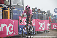 22th May 2021, Cittadella, Padua, Italy; Giro D Italia stage 14, Cittadella to Monte Zoncolan; IneGrenadiers Bernal Gomez, Arley at the finish line in Monte Zoncolan