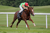 15th May 2020, Muenchen-Riem racecourse, Munich, Germany. Flat racing;  Anatello with Clement Lecoeuvre up rides for the finish line