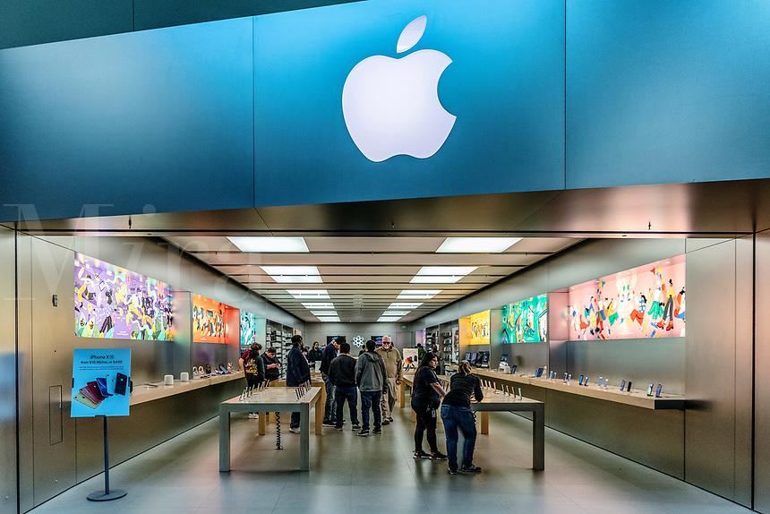 Apple retail store, Mall of Georgia, Beuford, Georgia, USA.