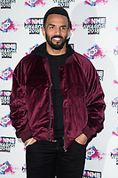 Craig David<br /> arriving for the NME Awards 2018 at the Brixton Academy, London<br /> <br /> <br /> ©Ash Knotek  D3376  14/02/2018