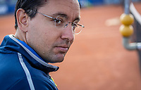 Netherlands, September 12,  2021, Naaldwijk KIA Competition mixed, premier league, LTC Naaldwijk vs TC Leimonias, womans doubles:: Umpire<br /> Photo: Henk Koster/tennisimages.com