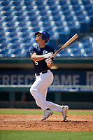 Slate Alford (16) of Bob Jones High School in Madison, AL during the Perfect Game National Showcase at Hoover Metropolitan Stadium on June 20, 2020 in Hoover, Alabama. (Mike Janes/Four Seam Images)
