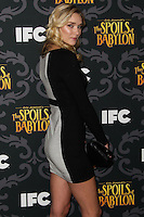 """LOS ANGELES, CA - JANUARY 07: Jelly Howie arriving at the Los Angeles Screening Of IFC's """"The Spoils Of Babylon"""" held at the Directors Guild Of America on January 7, 2014 in Los Angeles, California. (Photo by Xavier Collin/Celebrity Monitor)"""