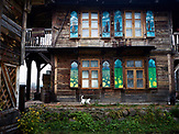 Tatars road house,  Poland <br /> Kruszyniany village in east Poland where Muslims, Catholics and Orthodox live together. <br /> <br /> Photo: Adam Lach, n-ost, Napo