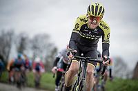 Luke Durbridge (AUS/Mitchelton-Scott) up the Oude Kwaremont<br /> <br /> 72nd Kuurne-Brussel-Kuurne 2020 (1.Pro)<br /> Kuurne to Kuurne (BEL): 201km<br /> <br /> ©kramon