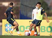 7th October 2020; Granja Comary, Teresopolis, Rio de Janeiro, Brazil; Qatar 2022 qualifiers; Roberto Firmino of Brazil during training session