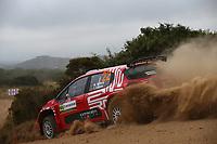 6th June 2021; Olbia, Sardinia, Italy; WRC Rally of Sardegna, final day; Stages SS17-SS20;  Mads Otsberg-Citroen C3 WRC2