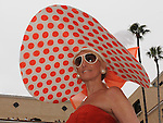 July 20, 2011.Hats are the big fashion statement at Del Mar Thoroughbred Club on opening day.